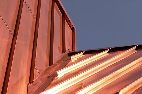 Copper Roofing Installation by Precision Roofing, LLC - Springvale, ME