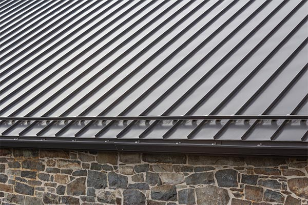 Standing Seam Metal Roof Installation by Precision Roofing, LLC - Springvale, ME